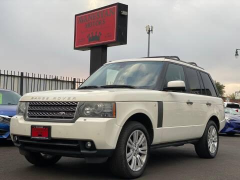 2010 Land Rover Range Rover for sale at Avanesyan Motors in Orem UT