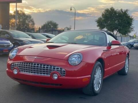 2003 Ford Thunderbird for sale at Avanesyan Motors in Orem UT