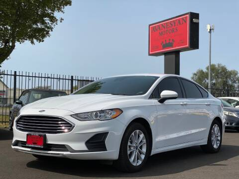 2020 Ford Fusion for sale at Avanesyan Motors in Orem UT