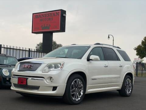 2011 GMC Acadia for sale at Avanesyan Motors in Orem UT