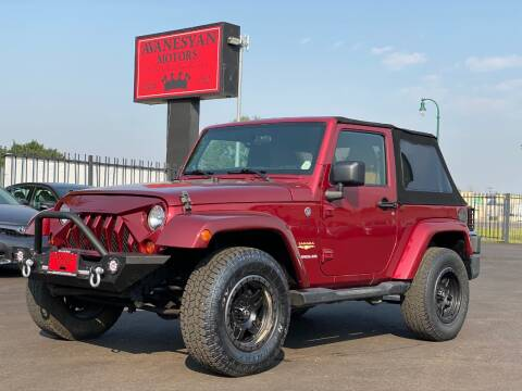 2012 Jeep Wrangler for sale at Avanesyan Motors in Orem UT