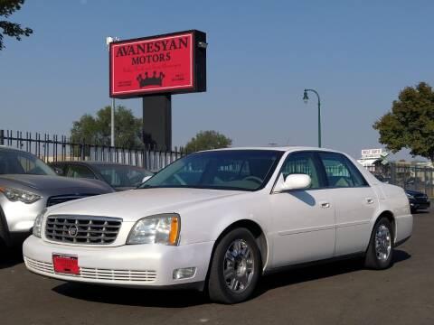 2004 Cadillac DeVille for sale at Avanesyan Motors in Orem UT