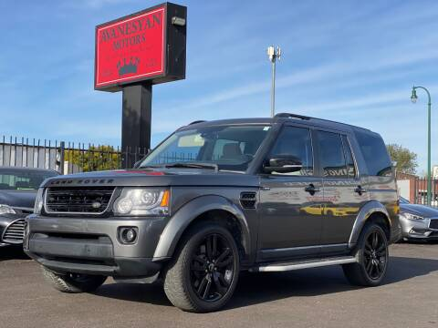 2015 Land Rover LR4 for sale at Avanesyan Motors in Orem UT