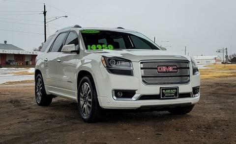 2013 GMC Acadia for sale at Island Auto in Grand Island NE