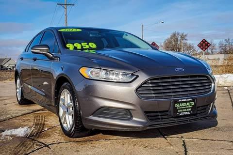 2013 Ford Fusion for sale at Island Auto in Grand Island NE