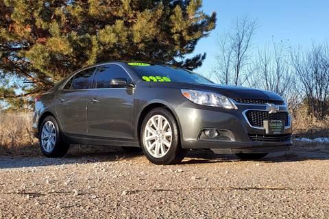 2015 Chevrolet Malibu for sale at Island Auto in Grand Island NE
