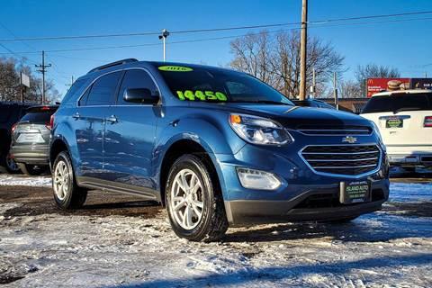 2016 Chevrolet Equinox for sale at Island Auto in Grand Island NE