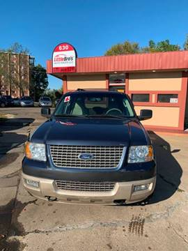 2006 Ford Expedition Eddie Bauer for sale at Little Bro's Auto Sales in Warren OH