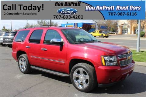2014 Chevrolet Tahoe LTZ for sale at Ron Dupratt Ford in Dixon CA