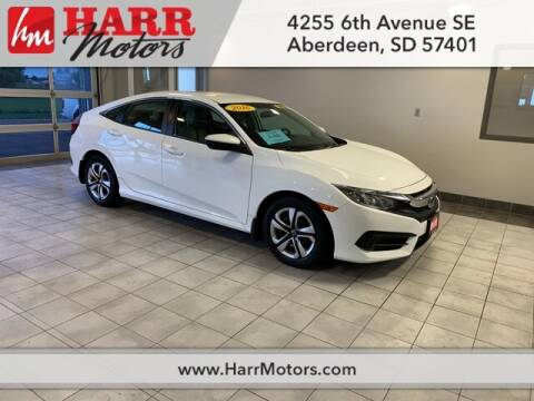 2016 Honda Civic for sale at Harr's Redfield Ford in Redfield SD