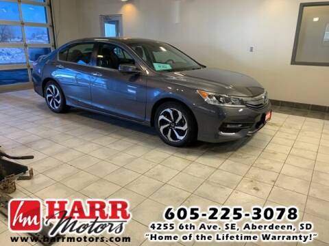 2017 Honda Accord for sale at Harr's Redfield Ford in Redfield SD