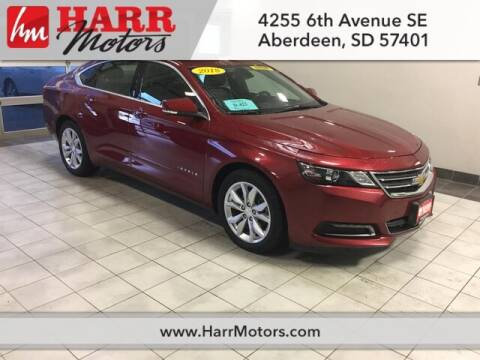 2018 Chevrolet Impala for sale at Harr's Redfield Ford in Redfield SD