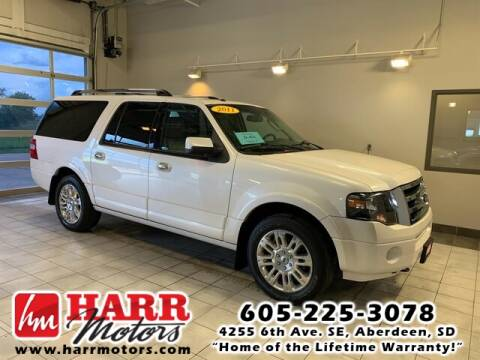 2011 Ford Expedition EL for sale at Harr's Redfield Ford in Redfield SD