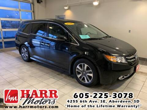 2016 Honda Odyssey for sale at Harr's Redfield Ford in Redfield SD