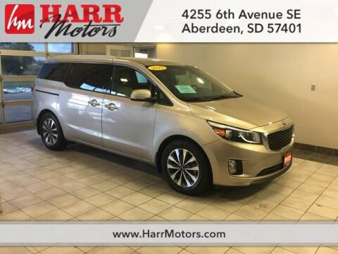 2015 Kia Sedona EX for sale at Harr's Redfield Ford in Redfield SD