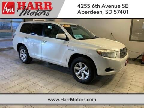 2009 Toyota Highlander Hybrid for sale at Harr's Redfield Ford in Redfield SD