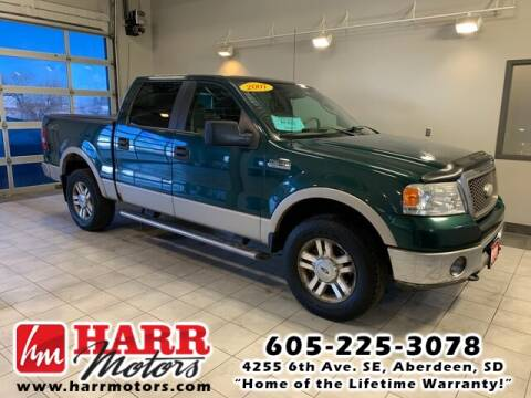 2007 Ford F-150 for sale at Harr's Redfield Ford in Redfield SD