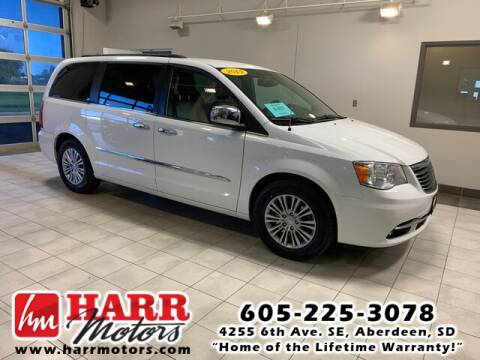 2014 Chrysler Town and Country for sale at Harr's Redfield Ford in Redfield SD
