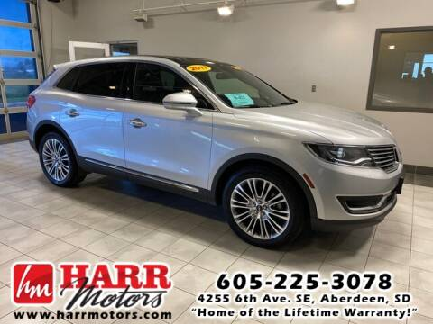 2017 Lincoln MKX for sale at Harr's Redfield Ford in Redfield SD