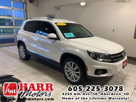 2012 Volkswagen Tiguan for sale at Harr's Redfield Ford in Redfield SD