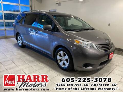 2016 Toyota Sienna for sale at Harr's Redfield Ford in Redfield SD