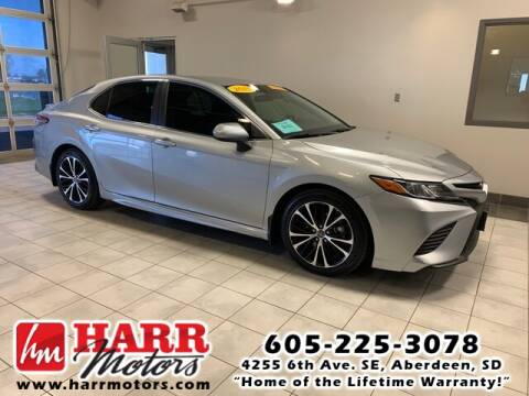 2018 Toyota Camry for sale at Harr's Redfield Ford in Redfield SD