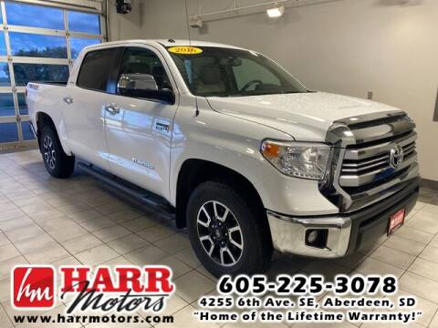 2016 Toyota Tundra for sale at Harr's Redfield Ford in Redfield SD