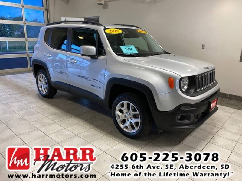 2016 Jeep Renegade for sale at Harr's Redfield Ford in Redfield SD