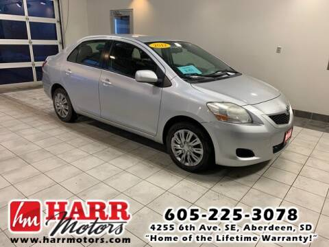 2012 Toyota Yaris for sale at Harr's Redfield Ford in Redfield SD