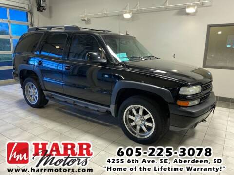 2004 Chevrolet Tahoe for sale at Harr's Redfield Ford in Redfield SD