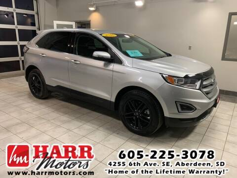 2016 Ford Edge for sale at Harr's Redfield Ford in Redfield SD