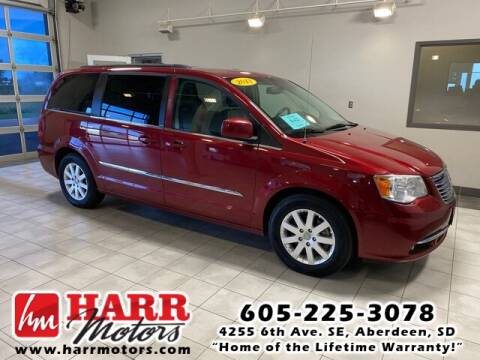 2013 Chrysler Town and Country for sale at Harr's Redfield Ford in Redfield SD