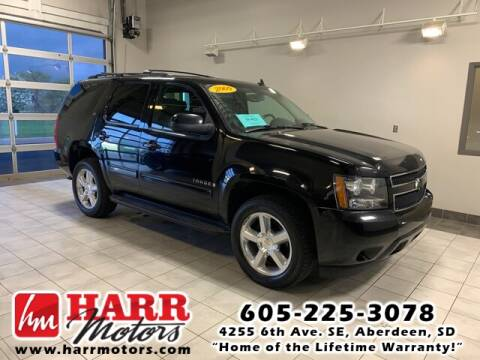 2009 Chevrolet Tahoe for sale at Harr's Redfield Ford in Redfield SD
