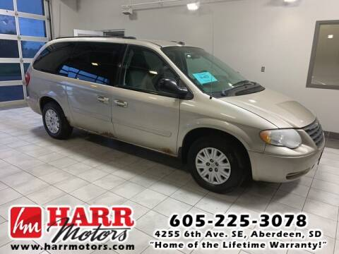 2005 Chrysler Town and Country for sale at Harr's Redfield Ford in Redfield SD