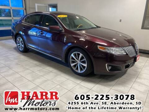 2011 Lincoln MKS for sale at Harr's Redfield Ford in Redfield SD