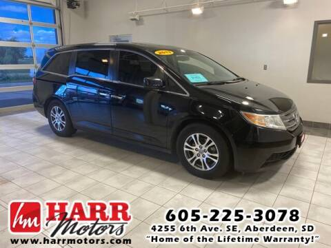 2013 Honda Odyssey for sale at Harr's Redfield Ford in Redfield SD