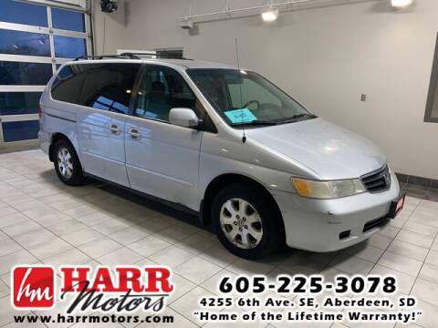 2002 Honda Odyssey for sale at Harr's Redfield Ford in Redfield SD