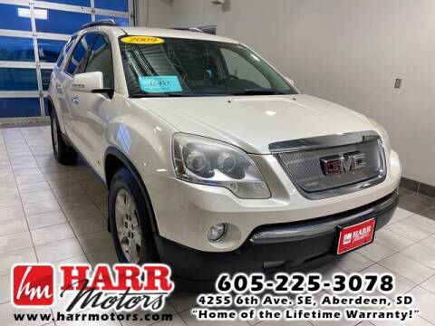 2009 GMC Acadia for sale at Harr's Redfield Ford in Redfield SD