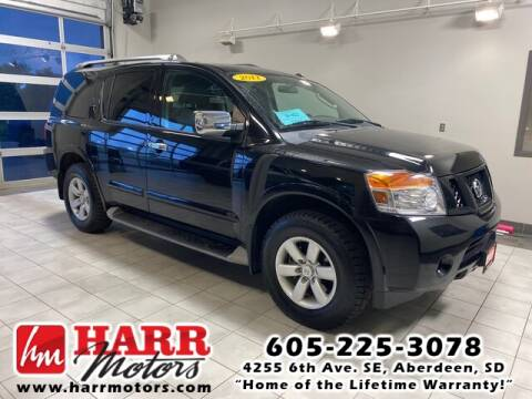 2011 Nissan Armada for sale at Harr's Redfield Ford in Redfield SD