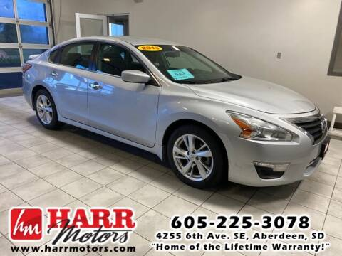 2013 Nissan Altima for sale at Harr's Redfield Ford in Redfield SD