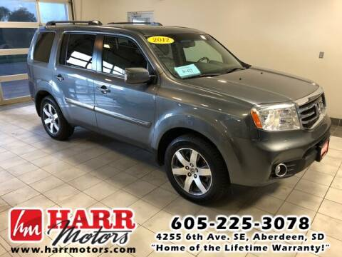 2012 Honda Pilot for sale at Harr's Redfield Ford in Redfield SD