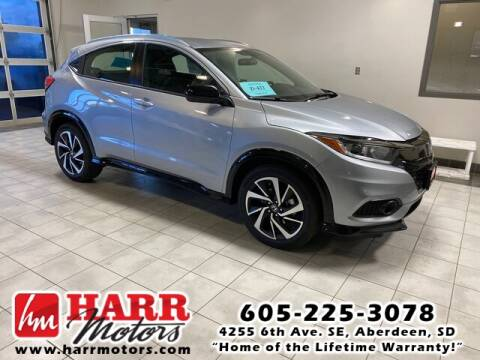 2020 Honda HR-V for sale at Harr's Redfield Ford in Redfield SD