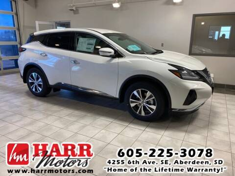 2020 Nissan Murano for sale at Harr's Redfield Ford in Redfield SD