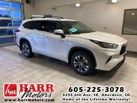 2020 Toyota Highlander Hybrid for sale at Harr's Redfield Ford in Redfield SD