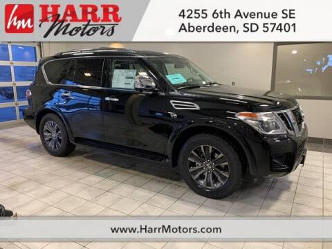 2020 Nissan Armada for sale at Harr's Redfield Ford in Redfield SD