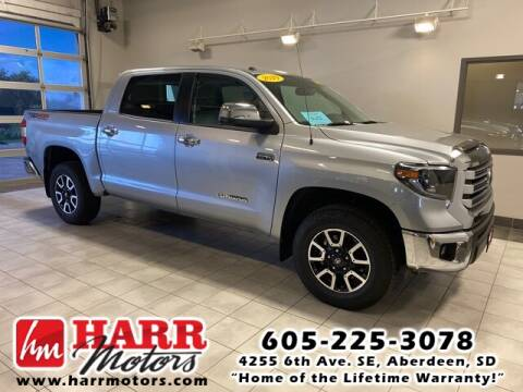 2019 Toyota Tundra for sale at Harr's Redfield Ford in Redfield SD