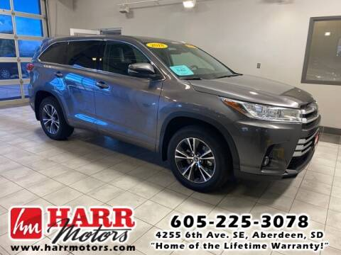 2018 Toyota Highlander for sale at Harr's Redfield Ford in Redfield SD