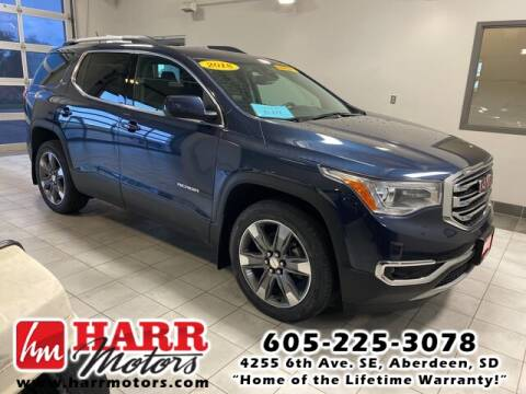 2018 GMC Acadia for sale at Harr's Redfield Ford in Redfield SD