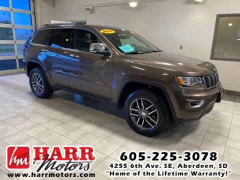 2017 Jeep Grand Cherokee for sale at Harr's Redfield Ford in Redfield SD