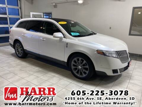 2010 Lincoln MKT for sale at Harr's Redfield Ford in Redfield SD